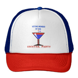 Voting Member of the COCKTAIL PARTY Cap