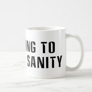 Voting To  Restore Sanity Mugs