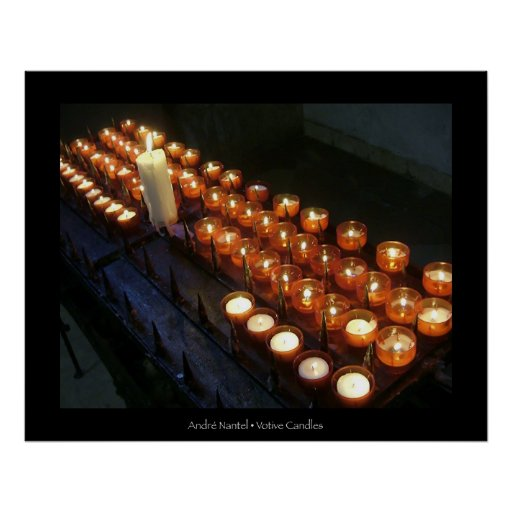 Votive Candles Poster