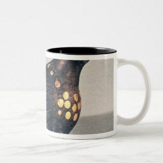 Votive dove Two-Tone coffee mug