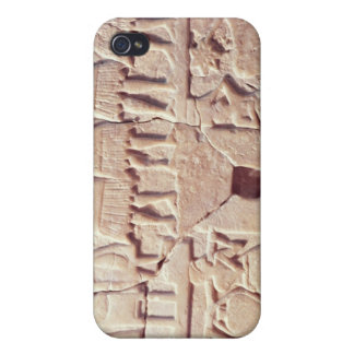 Votive plaque depicting an offering scene cover for iPhone 4