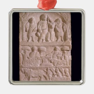Votive stela dedicated to Sature Christmas Ornament