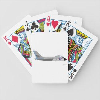 Vought F-7U Cutlass Playing Cards