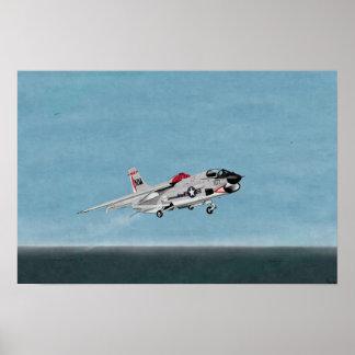 Vought F-8J Crusader fighter Print