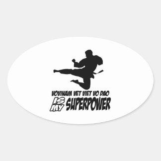 vovinam vet viet dao is my superpower stickers