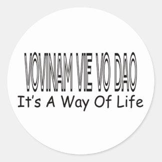 Vovinam vie vo dao It's A Way Of Life Sticker