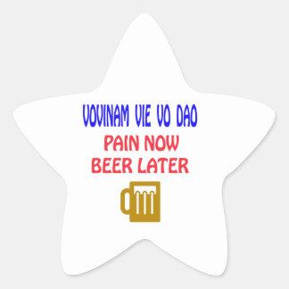Vovinam vie vo dao pain now beer later stickers