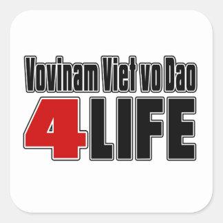 Vovinam Viet vo Dao For Life Square Sticker