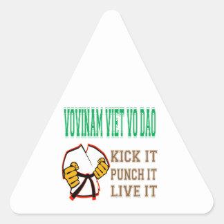 Vovinam Viet Vo Dao Kick it, Punch it, Live it Stickers