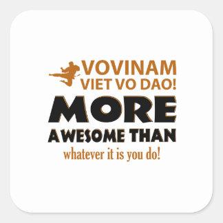 Vovinam Viet Vo Dao Martial arts gift items Square Sticker