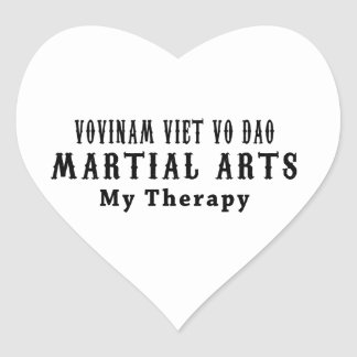 Vovinam Viet Vo Dao Martial Arts My Therapy Heart Sticker