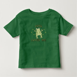 VoVo Loves Me Frog Toddler T-Shirt