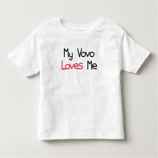 Vovo Loves Me Toddler T-Shirt