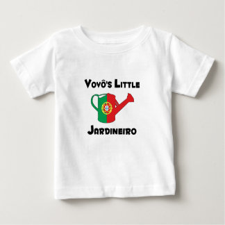 Vovo's Little Jardineiro Baby T-Shirt