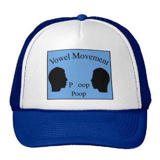Vowel Movement - Blue Hat