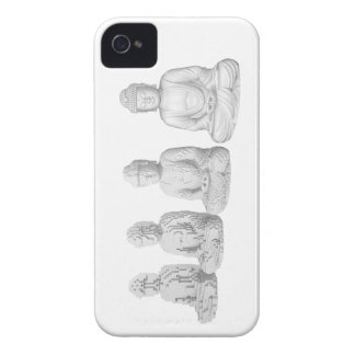 Voxel Buddha iPhone 4 Cases