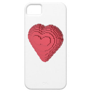 Voxel Heart Barely There iPhone 5 Case