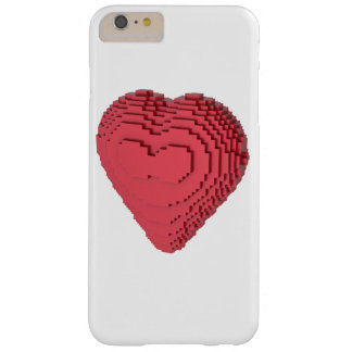 Voxel Heart Barely There iPhone 6 Plus Case
