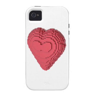 Voxel Heart Case-Mate iPhone 4 Covers