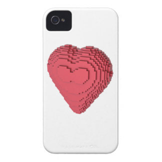 Voxel Heart iPhone 4 Cover