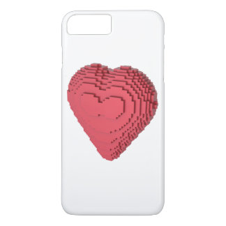 Voxel Heart iPhone 7 Plus Case