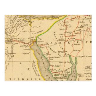 Voyage des Israelites depuis leur sortie d'Egypte Postcard