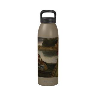 Voyage of King Arthur & Morgan Le Fey Reusable Water Bottle