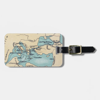 VOYAGE OF THE ARGONAUTS LUGGAGE TAG