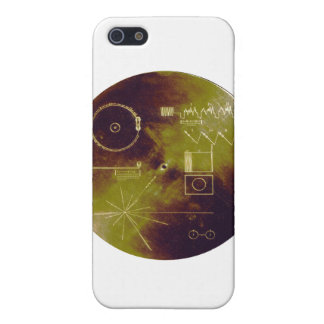 Voyager 1 and 2 Golden Record Sounds of Earth iPhone 5/5S Case