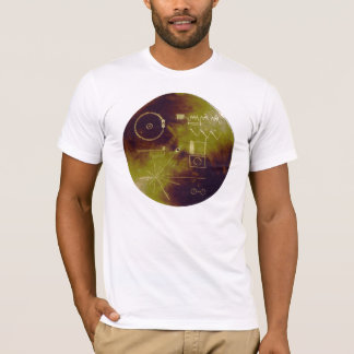 Voyager 1 and 2 Golden Record Sounds of Earth T-Shirt