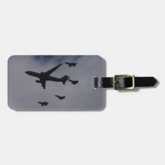 Voyager and Typhoons Travel Bag Tag