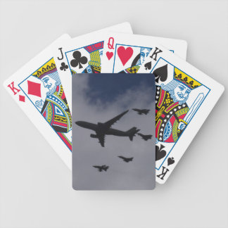Voyager and Typhoons Bicycle Poker Cards