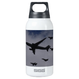 Voyager and Typhoons 10 Oz Insulated SIGG Thermos Water Bottle