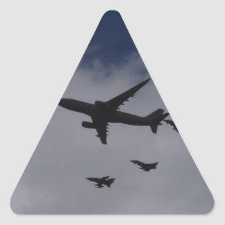 Voyager and Typhoons Triangle Sticker
