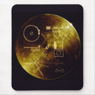 Voyager Golden Record Mouse Pad