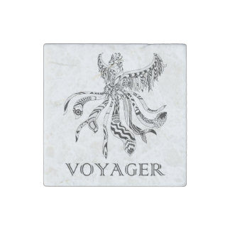 Voyager Marble Magnet