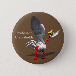 Voyager Mascot Button  - Prof. Cleanfields