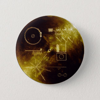 Voyager Message 6 Cm Round Badge