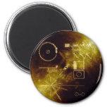 Voyager Message 6 Cm Round Magnet