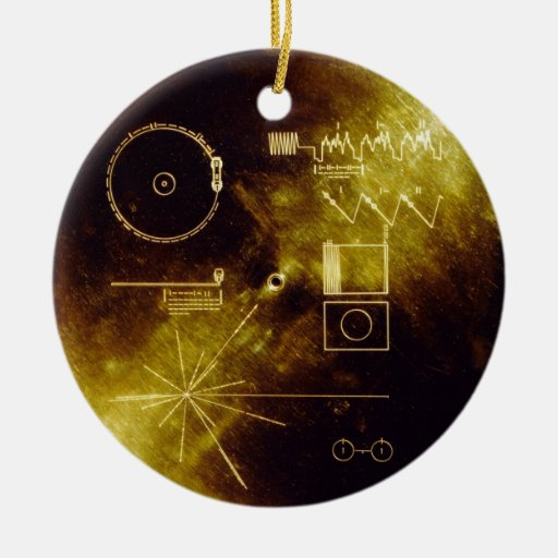 Voyager Message Ornament