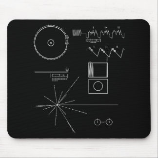Voyager Message Mouse Mat