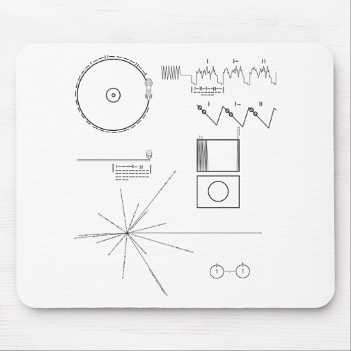 Voyager Message Mouse Pad