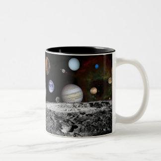Voyager Montage Two-Tone Mug