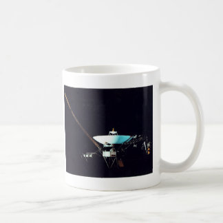 VOYAGER  SPACECRAFT COFFEE MUG