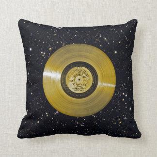 Voyager Spacecraft Golden Record Cushion