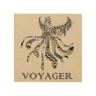 Voyager Wood Art Wood Print