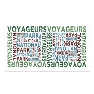 Voyageurs National Park Business Card Templates