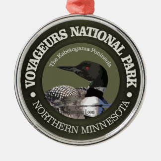 Voyageurs National Park (Loon) Christmas Ornament
