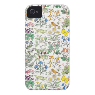 Voysey Apothecary s Garden Pattern iPhone 4 Case