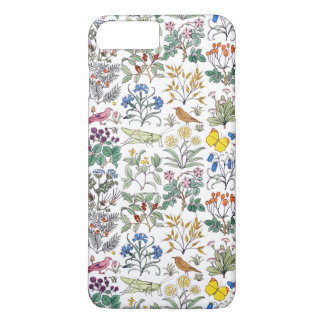 Voysey Apothecary's Garden Pattern iPhone 7 Plus Case